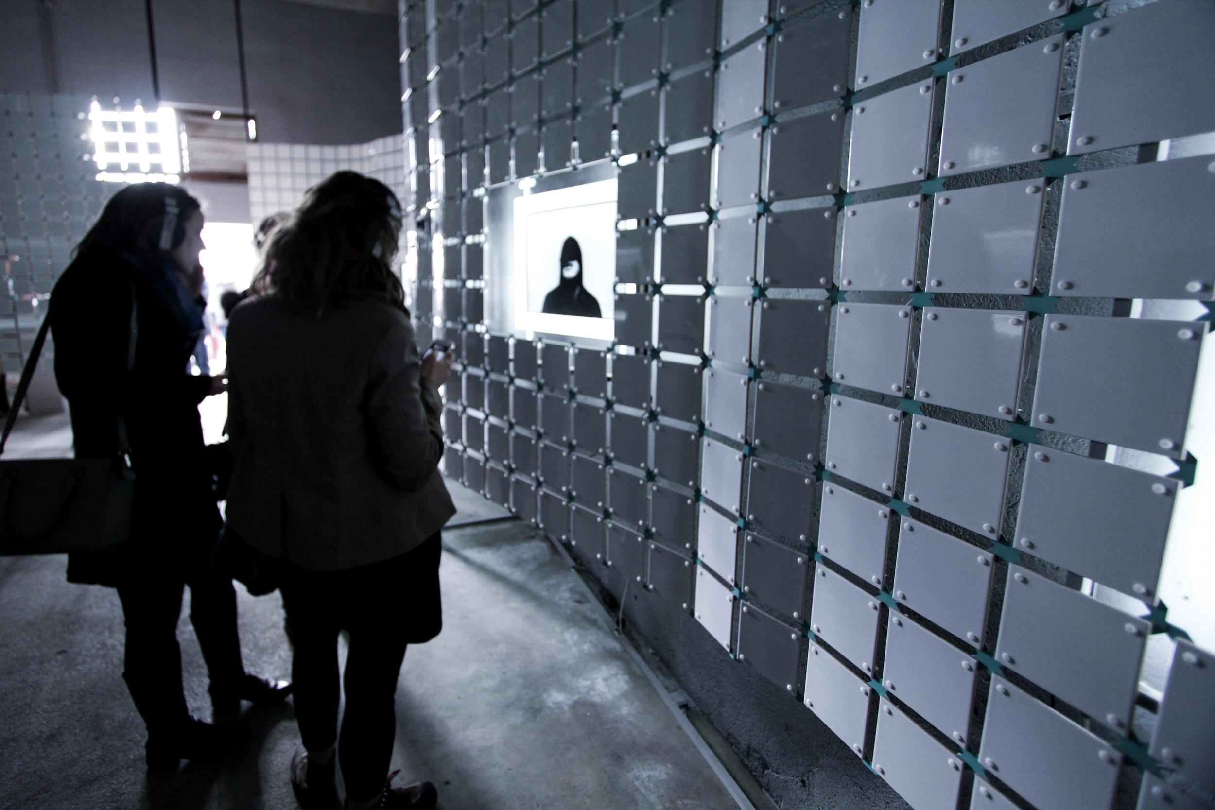 Visitors' path.Réserve Deboussolée,  Biennale Design Saint Étienne  .image ©futurecrafter