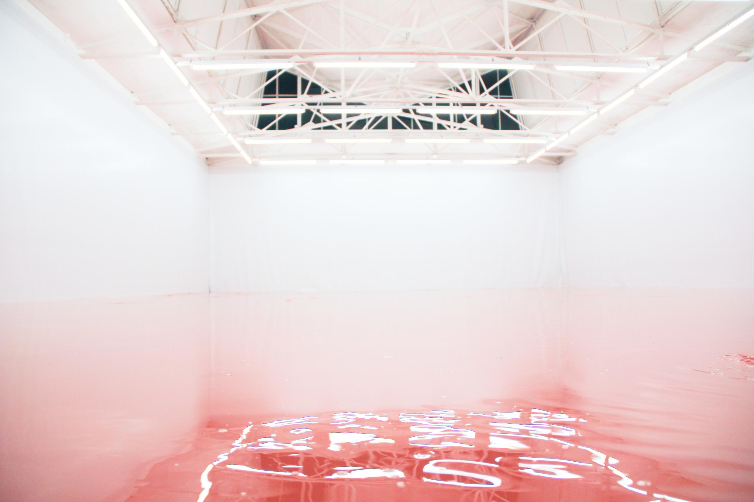 Our Product by  Pamela Rosenkranz .Venice Biennale of Art 2015. image © Futurecrafter
