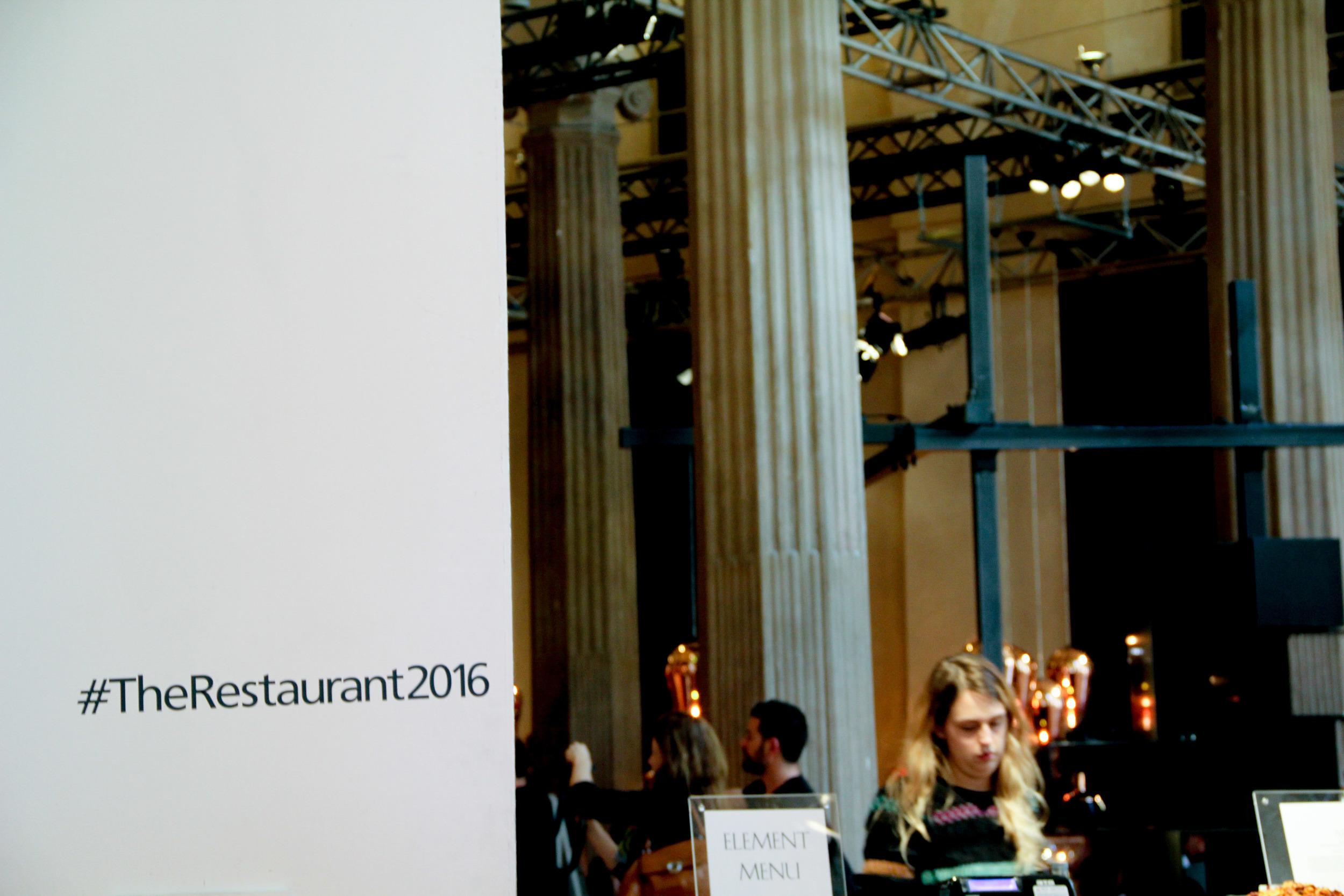 The Restaurant. FuoriSalone2016.