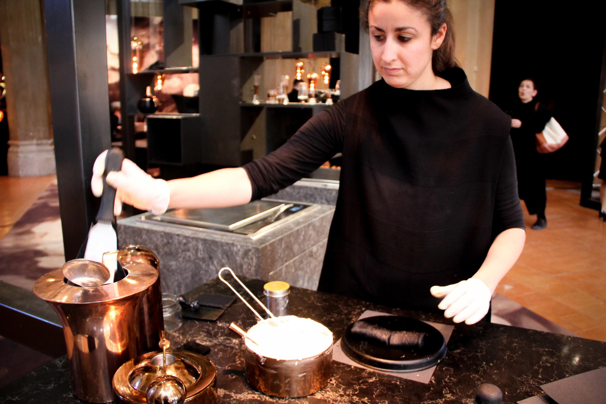 The Restaurant: Black Flat of Fire Kitchen  . image©Futurecrafter
