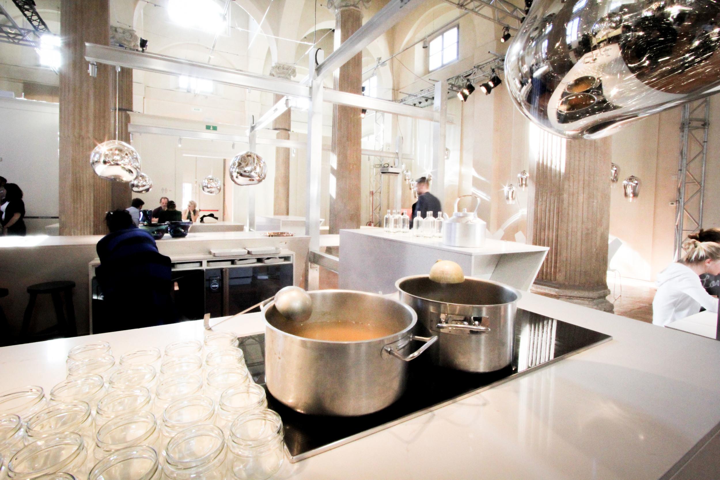The Restaurant: Water Kitchen  . image©Futurecrafter