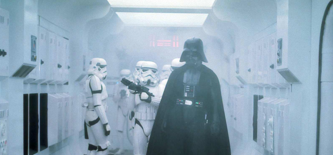 Darth Vader. Death Star Construction. We have an 11am to discuss your renovation.