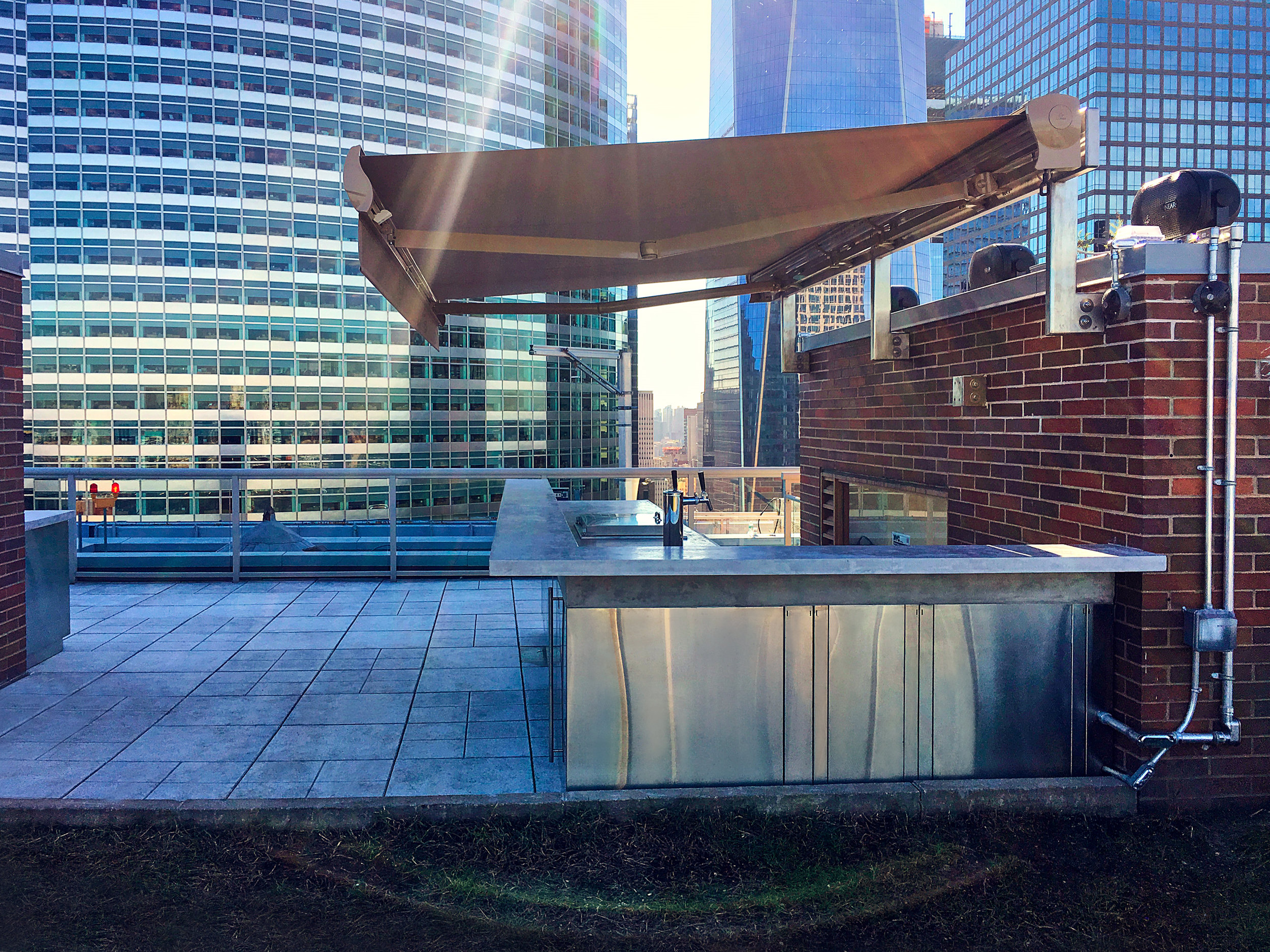 Bolster Rooftop Terrace Renovation Project