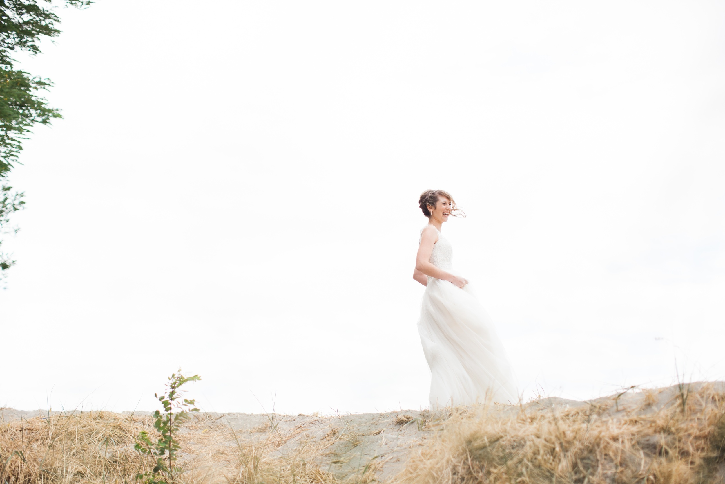 seattle wedding photographer film photography golden garden gardens state park ocean sand bride groom 16.jpg