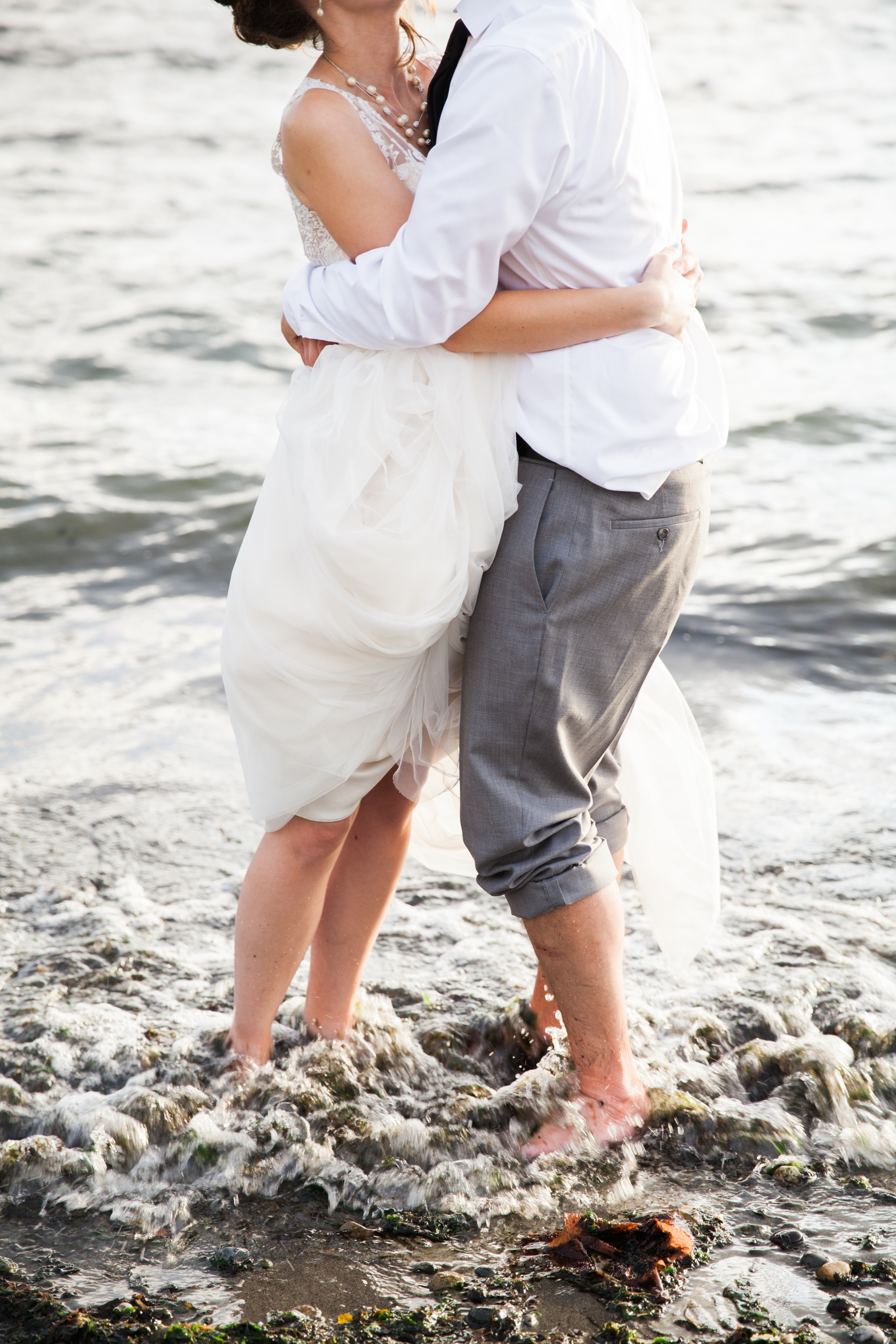 seattle wedding photographer film photography golden garden gardens state park ocean sand bride groom 44.jpg