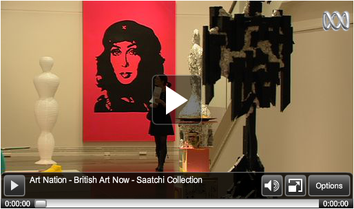 ABC TV - Saatchi Gallery in Adelaide - British Art Now - Art Gallery of South Australia - 2011