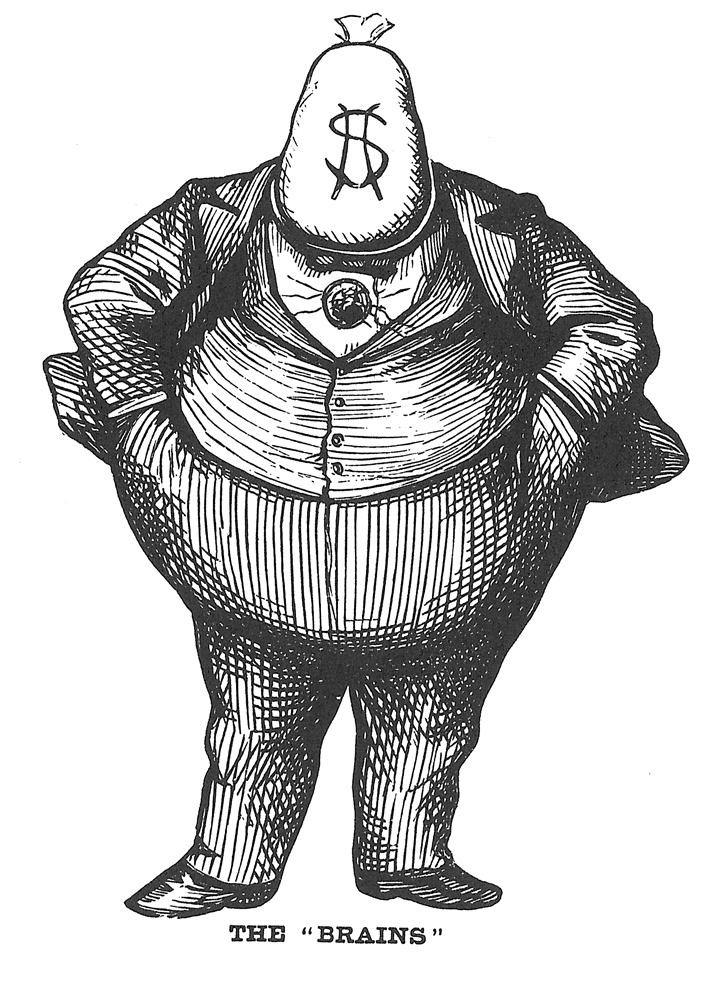 Thomas Nast,  Harper's Weekly , October 21, 1871