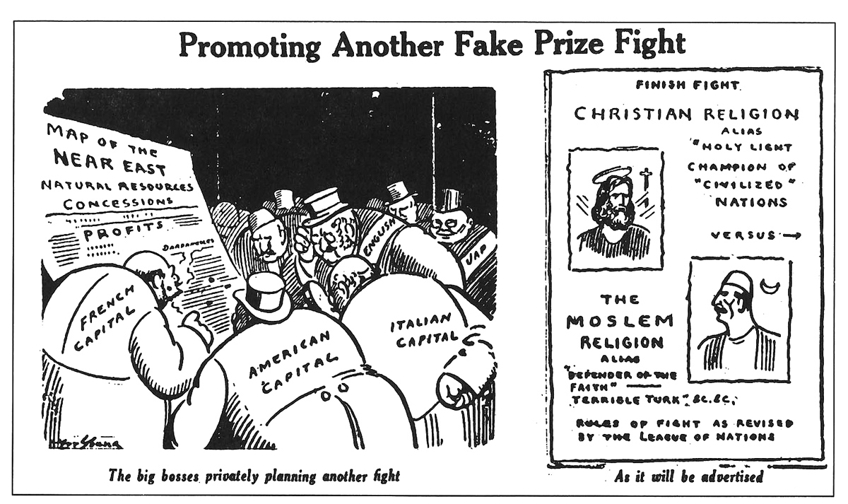 Art Young,  The Appeal to Reason , October 28, 1922.