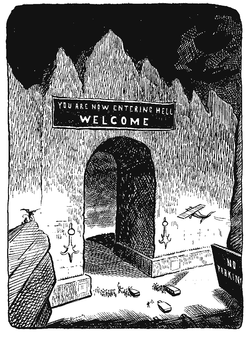 Art Young's Inferno: A Journey Through Hell Six Hundred Years After Dante , 1934.