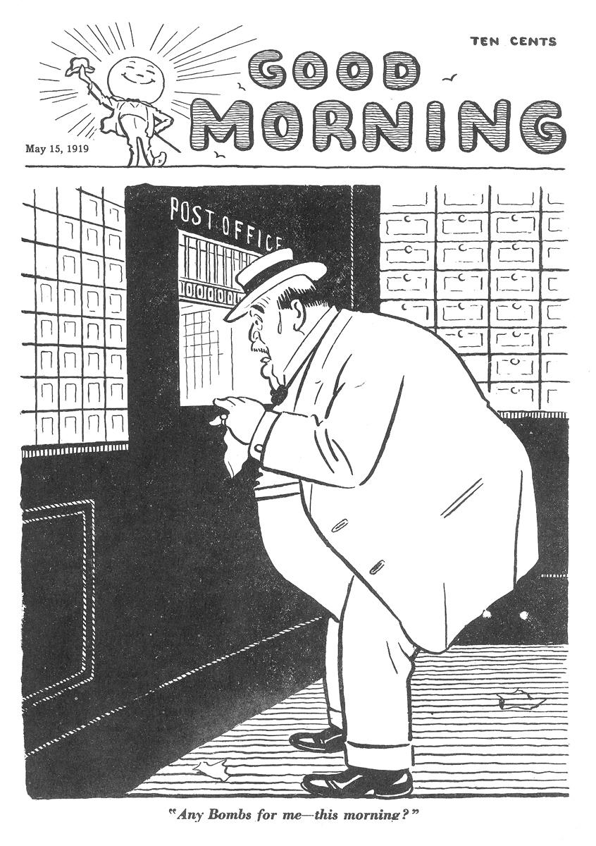 Art Young,  Good Morning , May, 15, 1920.