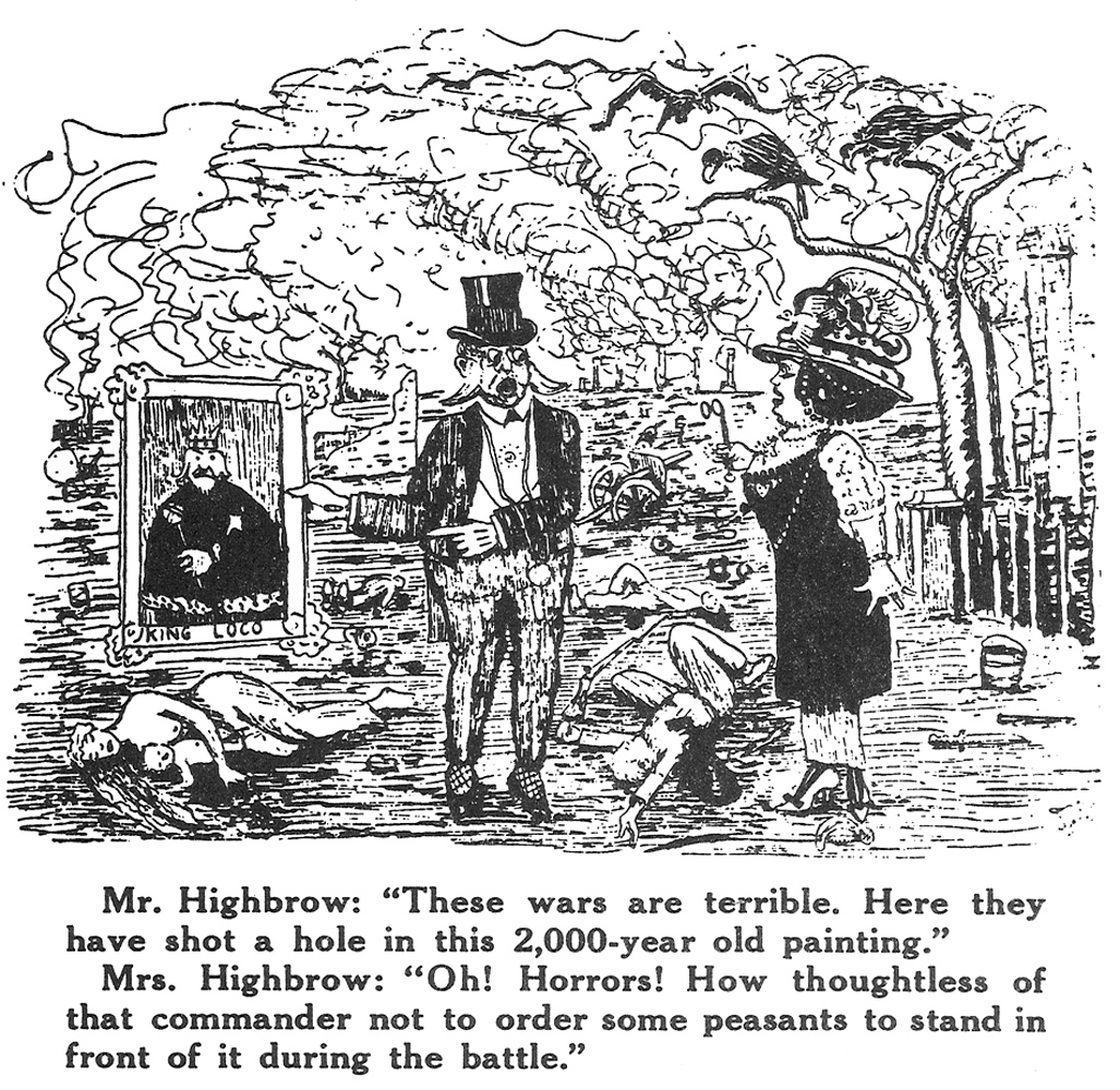 Joe Hill,    One Big Union Monthly    (November 1919). P  robably drawn in 1910 or 1911 but first published after his 1915 execution.