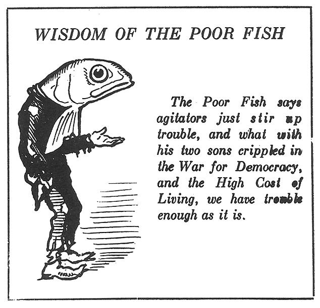 Art Young, Good Morning , October 1, 1919.