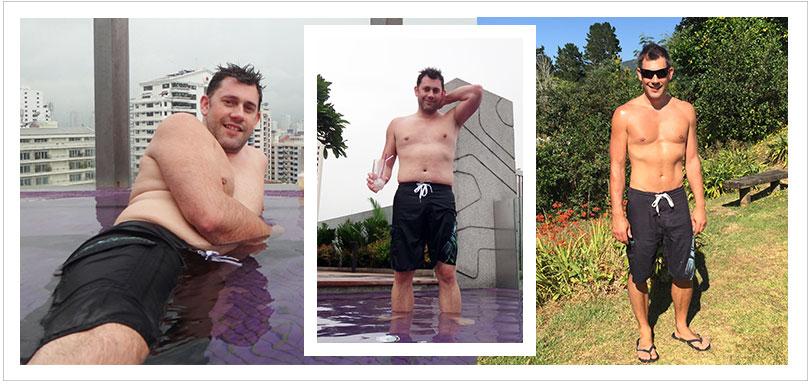 Dan's 10kg weight loss