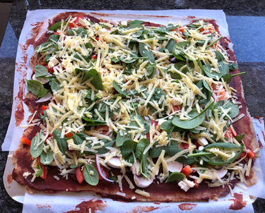 Same pizza, but an alternative way to make it.