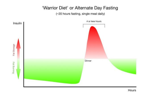 intermittent fasting diet and insulin