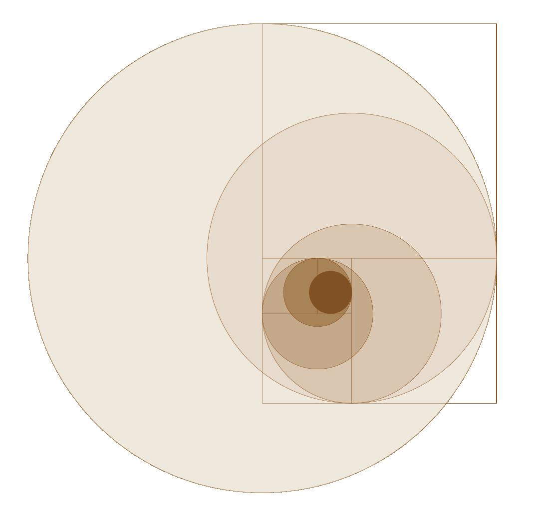O Retângulo Áureo e a Sequência de Fibonacci definiram a estrutura e as proporções dos conjuntos da coleção Aterrário