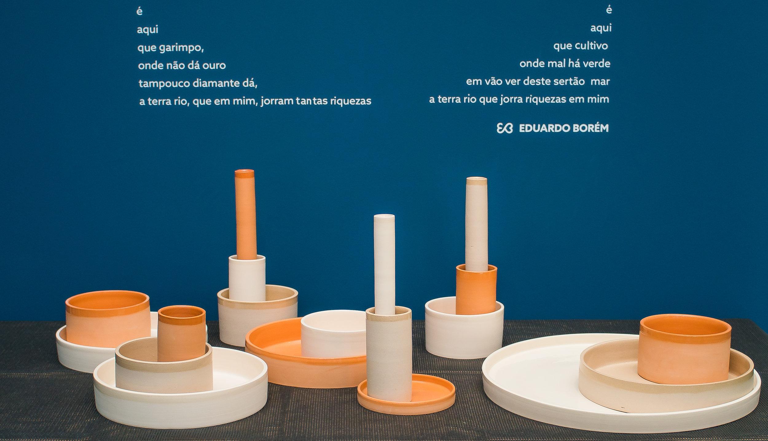 Coleção Aterrário, MADE Mercado de Arte e Design 2018, Pavilhão Bienal de São Paulo  foto: Eduardo Magalhães