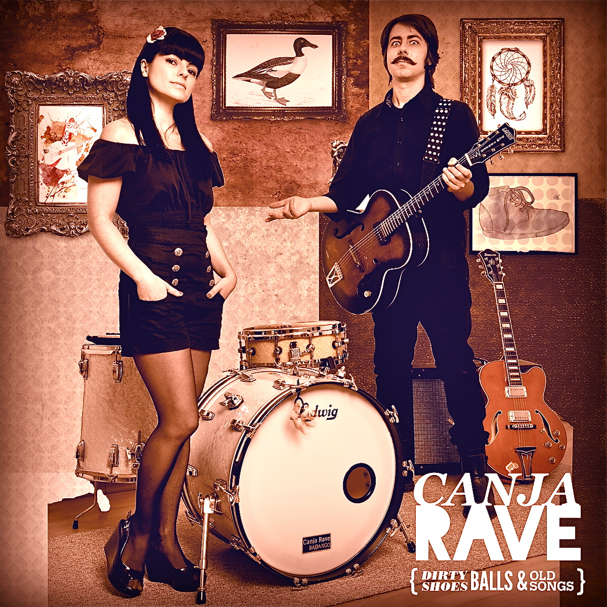 Dirty Shoes, Balls and Old Songs  - Canja Rave