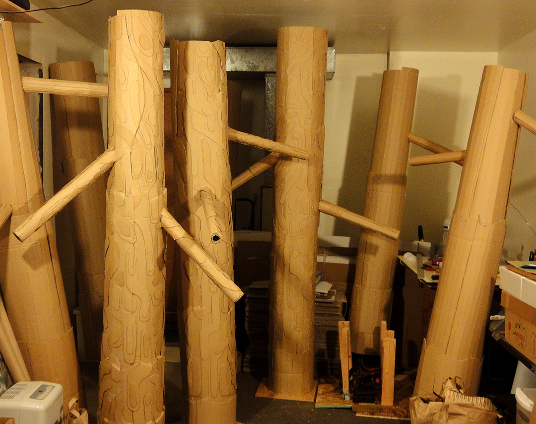 Conifer Tree Constuction