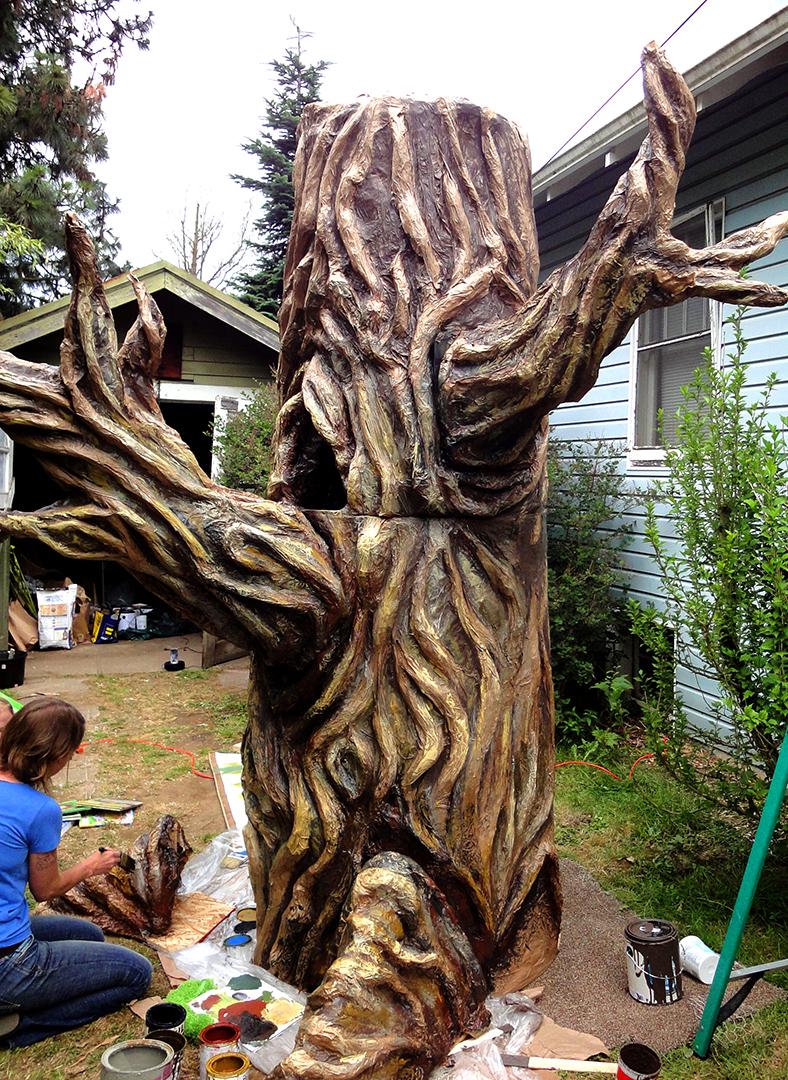 Tall Oak Tree