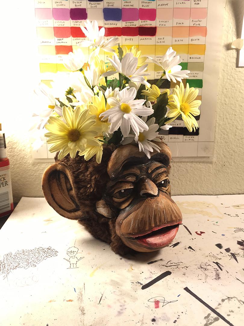 Monkey Skull Cup