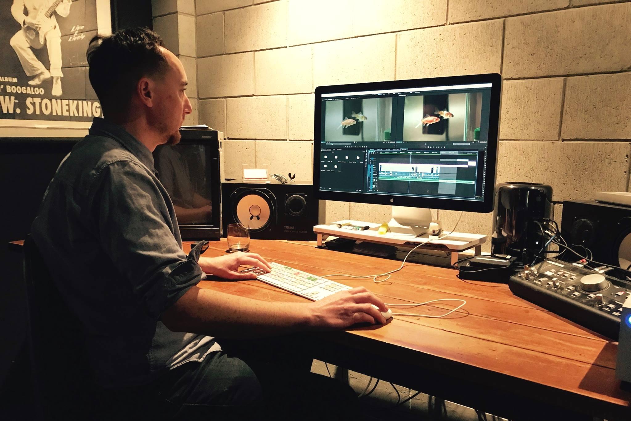 Ruff & Tumble crew editing video