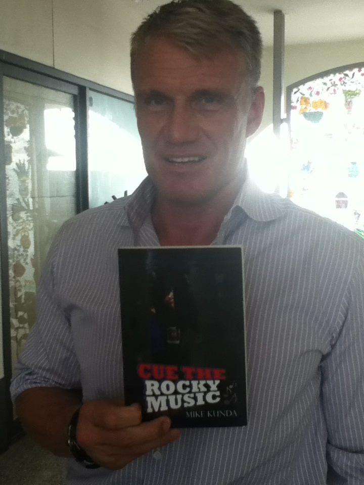 Even Drago likes my book!