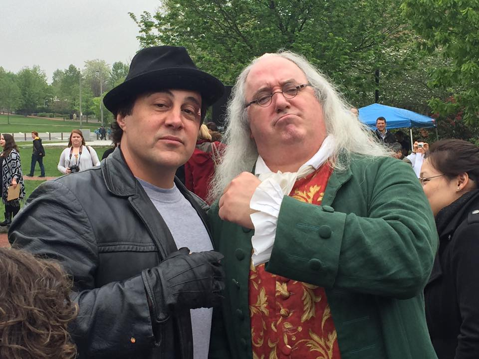 Even Ben Franklin knows the champ!