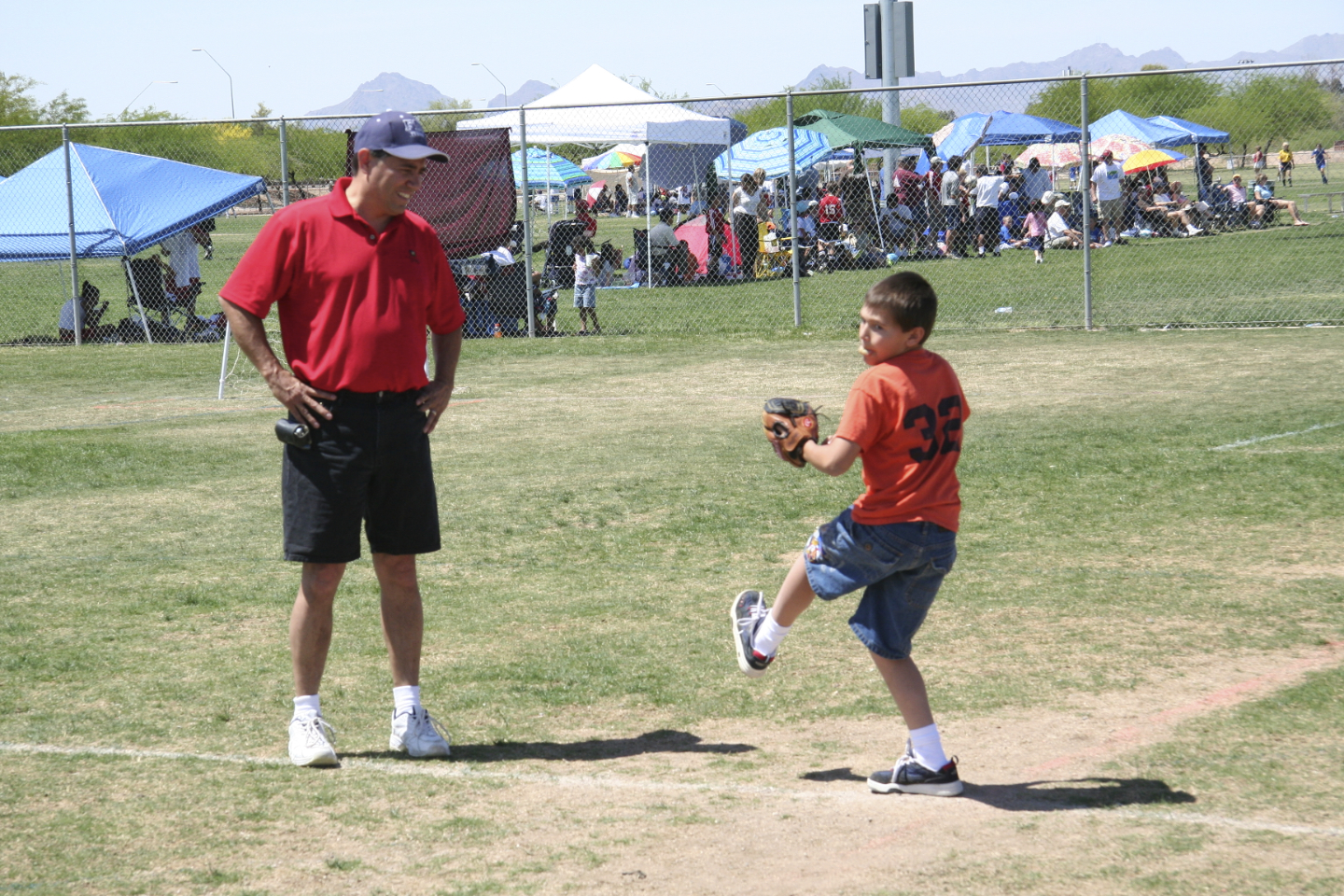 2007. The ever present attempt to help Kyler develop into a pitcher and play baseball.