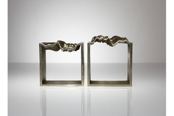 kns collective nicole nadeau kameron gad topo cuffs art objects artist sculpture