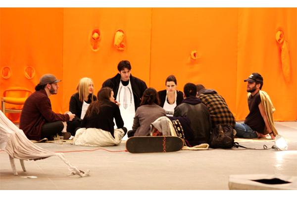 kns collective nicole nadeau kameron gad installation x initiative gallery art objects