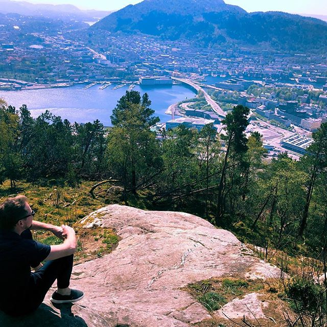 """I'm not really a """"bucket list"""" person, but the past three days marked the achievement of a goal I set for myself when I was 7 years old — to visit Norway.  I'm a European mutt like most caucasians in America, but Norway makes up a relatively significant portion. A significance that dominated my heritage fascination thanks to a step-grandpa who was a ski jumper from Norway. Technically he and I share no blood, but his vigor for the Norwegian culture infected me early on. He proudly displayed a Norwegian flag 🇳🇴 in his living room and we'd root for Norway when the Winter Olympics rolled around.  When given the task in elementary school of doing a project on a foreign country, my choice was clear. I learned all about its history, past and present. Didn't hurt that Norway is by far the best country exhibit at Epcot either.  I've had the fortune of traveling to many countries throughout my life, but never has one captured me so much as Norway. As soon as I stepped foot into the Oslo airport I was lovingly tackled and wrapped up by a sense of homecoming. For someone who's an only child, I've never quite felt like I fit in anywhere—until now. From their meticulous attention to design detail, to their reserved yet warm nature once you get to know them, to the sandy blonde color of their hair, these are my people.  In three days I got to see much of Oslo and Bergen including all the countryside in between courtesy of the most majestic train ride I've ever taken. I even had the luxury of meeting one of my best friends and roommate @eliotbronson in Bergen to see him play a show during his Norwegian tour. It was all so incredibly perfect.  Turns out there's a reality show on NorgeTV called """"Alt For Norge"""" where Norwegian-Americans compete in Norse-related challenges to win $50k and a reunion with their long-lost Norwegian family members. I can guarantee you they'll be receiving the most extravagant audition tape they've ever seen this Fall :)"""