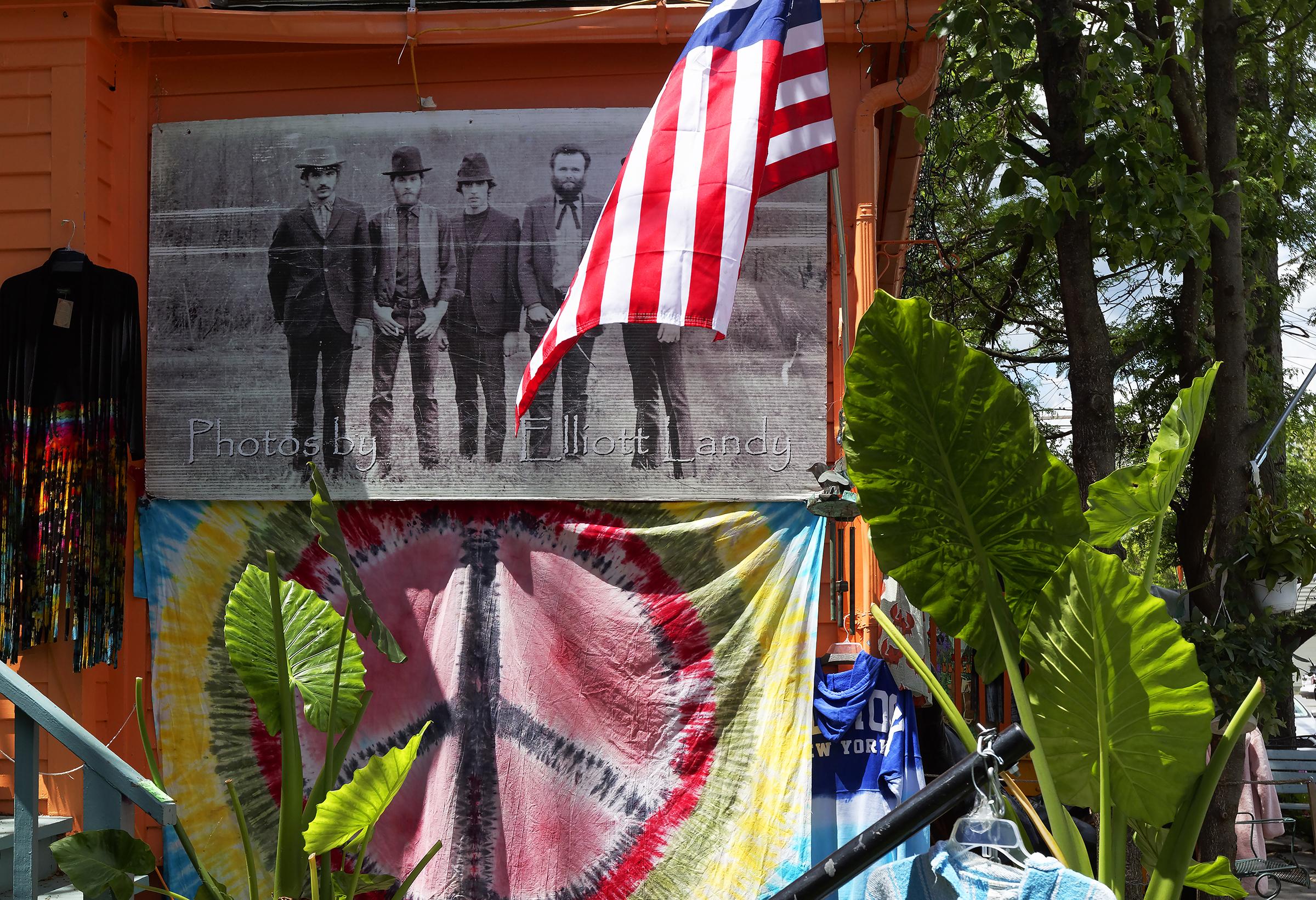 Gift shop in Woodstock, NY