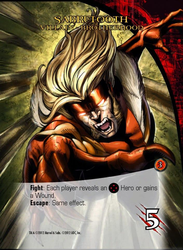 Marvel Legendary - Sabretooth