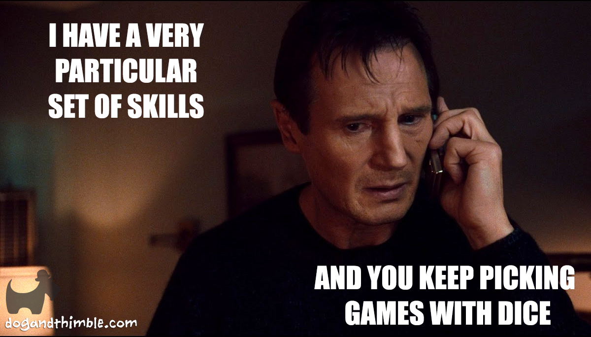 Liam Neeson Taken board game meme