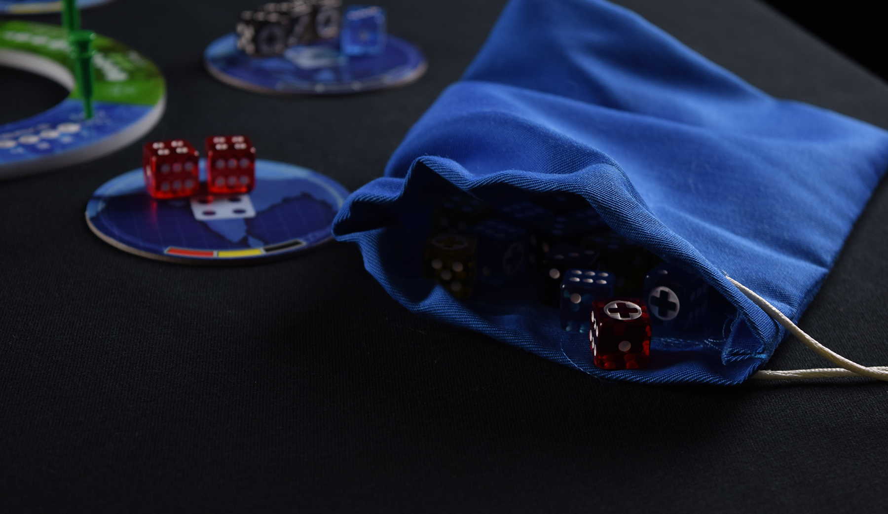 Pandemic's Dice Bag of Death.