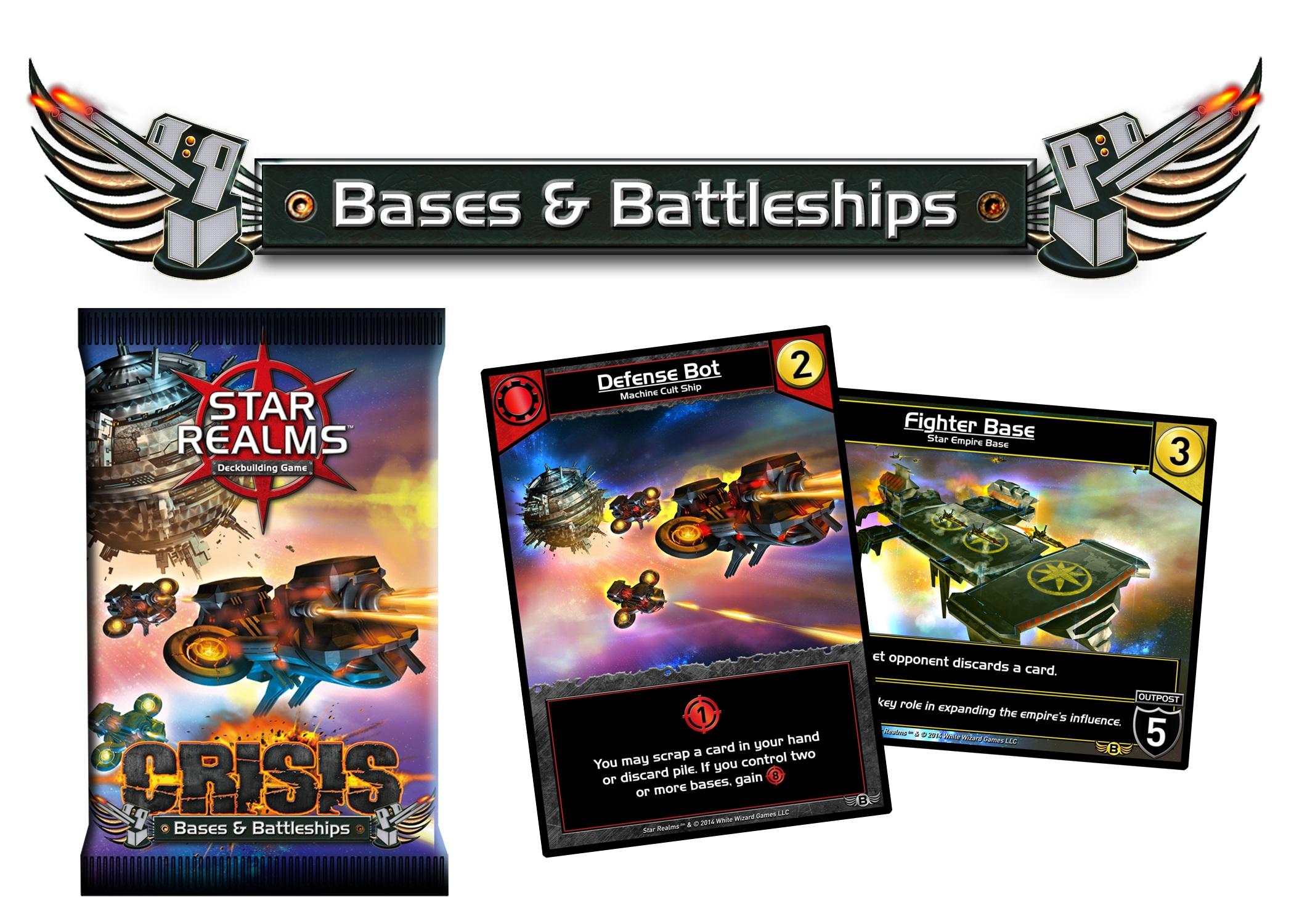 Star Realms Bases & Battleships Expansion