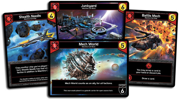Star Realms has well-designed cards.