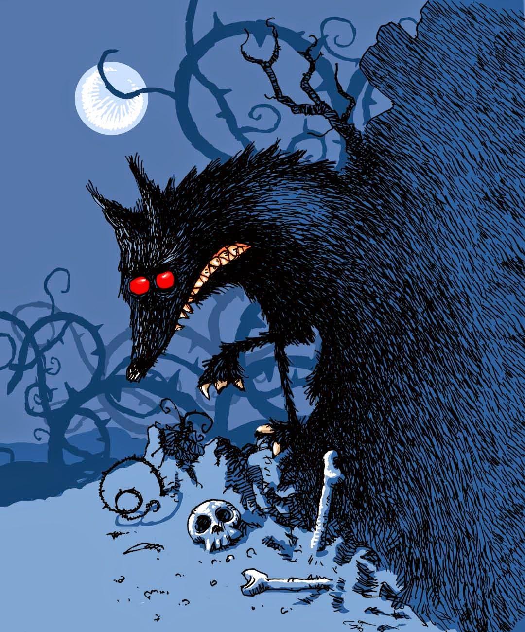 Fairy Tale Gloom - The Wolf