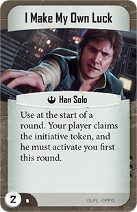 Han Solo - I Make My Own Luck