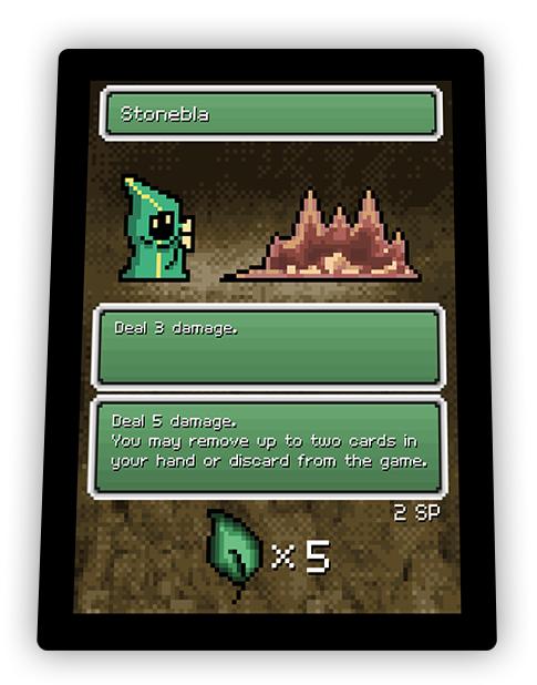 Pixel Glory card - Stonebla