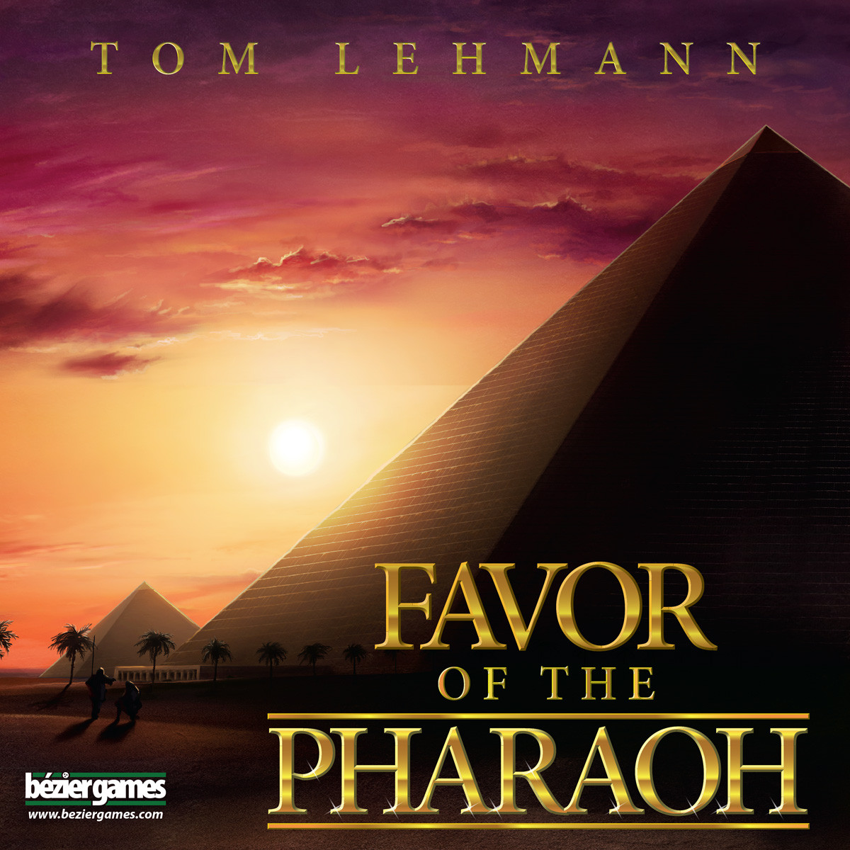 Favor of the Pharaoh Box Cover