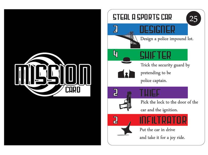 Dream Heist Mission Card