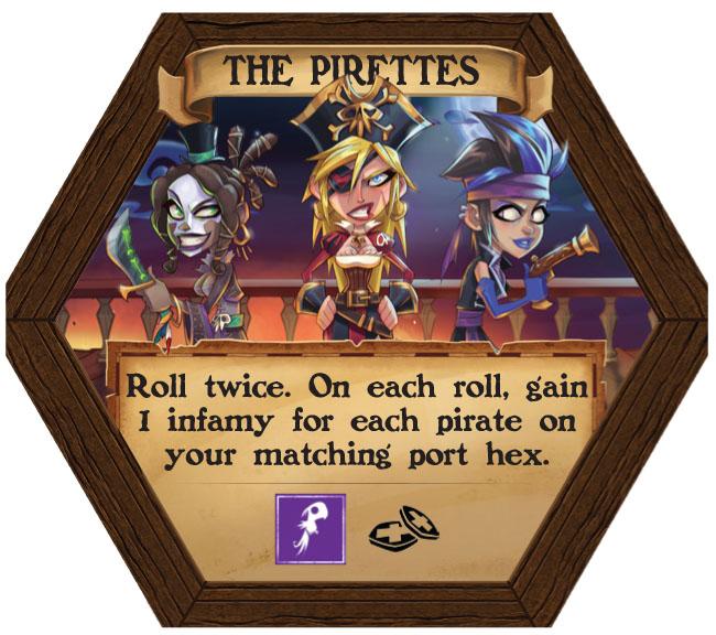 Dark Seas - The Pirettes