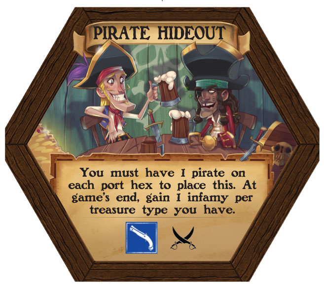 Dark Seas - Pirate Hideout