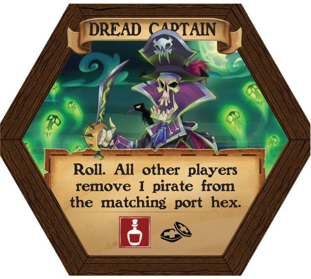 Dark Seas - Dread Captain