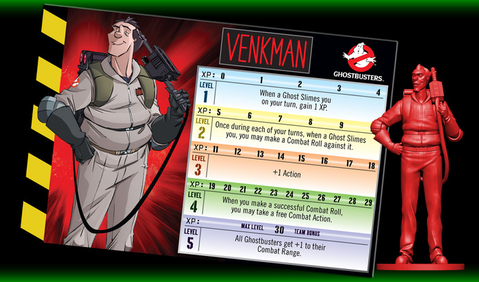 Ghostbusters: The Board Game - Peter Venkman