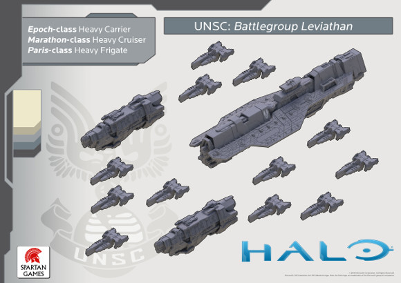 Halo minis - UNSC forces