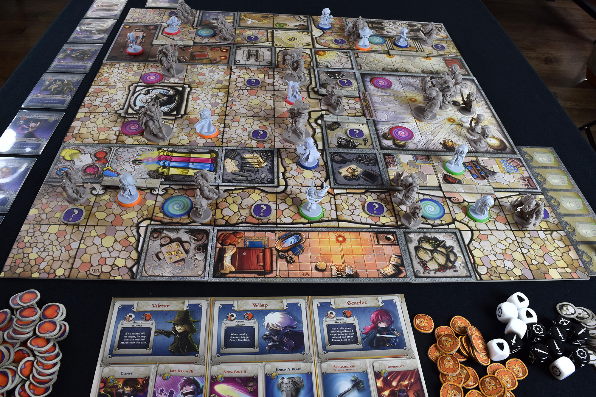 Arcadia Quest requires a lot of table space, but it's worth it.