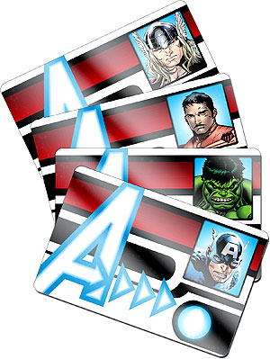 Avengers Age of Ultron HeroClix Avengers ID Cards